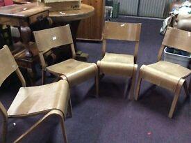 4 hall chairs