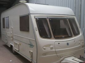AVONDALE 5 BERTH DOUBLE END BEDS +awning