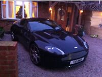 Aston Martin v8 vantage famsh low miles