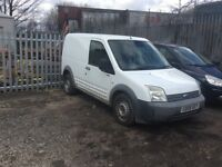 FORD TRANSIT CONNECT 1.8 DIESEL 08 PLATE. £1195