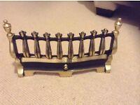 Bauhaus 16 Inch Antique Brass Round Fire Fret