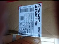 New Glowworm Ultimate c 30cxi - Combi boiler can be used gas or LPG
