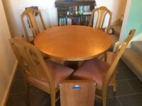 Parker Knoll Table and chairs