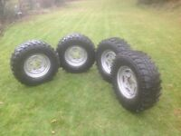 Insa Turbo Special Track 265/75/16 Tyres on Steel Wheels x 4
