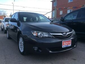 2011 Subaru Impreza Low KM 125K AWD Bluetooth Sunroof Heated Sea