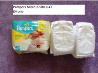 Various Nappies - Prices on photos