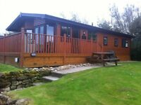 3 BED LUXURY LODGE TO RENT HAGGERSTON CASTLE GOLF BREAK SCHOOL BREAK SEGWAYS