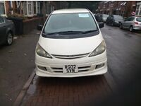 Toyota Previa Estima 8 seater petrol and gas automatic 2002 £2,550