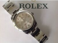GENUINE ROLEX MIDSIZE OYSTER PERPETUAL LADIES 177200 CURRENT MODEL LADY/GENTS YEAR 2008. 31mm CASE