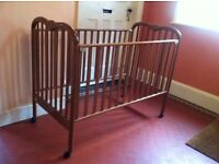 Mamas and Papas Cot Bed for Spares & Repairs (no base or screws)