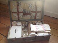 Vintage 1950s original picnic set