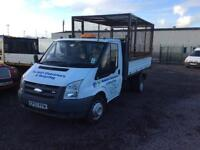 Ford transit 2007 57 plate for 100 break hp five speed gearbox starts drives and runs perfect
