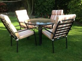Garden Table& Chairs