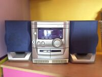 Panasonic 3disc cd changer am/fm radio