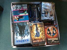 Box of mixed DVD's