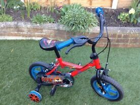 Bike in very good condition hardly used ,age 3/4.