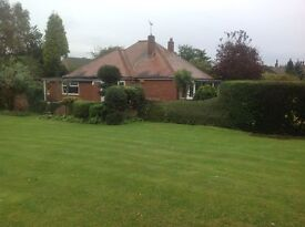 Beautifully presented 3 bedroom bungalow in mature gardens in quiet village close to Snaith