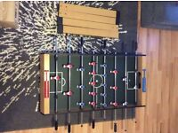 4ft Football table Size L122, W61, H81cm. Only two months old.