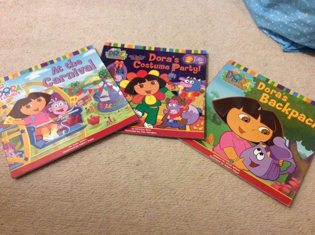 Cartoon Club Dora The Explorer Childrens Wallet Purple