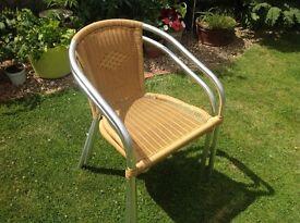 2 chairs patio/ indoor