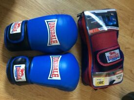 Excellent quality, unused boxing gloves (2 pair) - 18oz