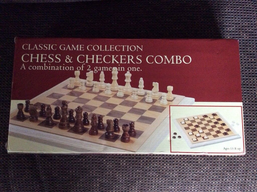 Chess and Checkers (Draughts) combo