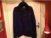 Gents Mc Kenzie Jacket size Large in Black lots of Pockets..V.G.C.