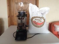 Francino Coffee Grinder with 7kg Fairtrade Coffee Beans