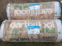 KNAUF Earthwool loft roll insulation 100mm