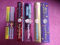 AGE 8-13 YEARS GIRLS BOOKS, JACQUELINE WILSON COLLECTION OF SEVEN HARDBACKS AND PAPERBACKS