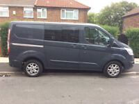 Transit custom crew van rare 6 seater hpi clear absolute bargain at only £11250 ono px poss