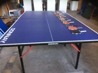 Donnay Table Tennis Table & Bats