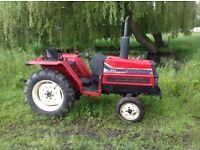 Yanmar f20 compact diesel tractor