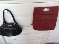Two genuine handbags by Ollie and Nic and Jane Norman