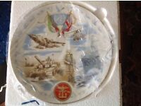"""LIMITED EDITION """"VICTORY IN THE GULF """" COMMEMMORATIVE PLATE."""
