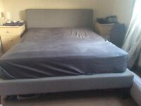 Queen bed - base and mattress Must sell this weekend