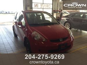 SAFETIED! AS IS/AS TRADED 2008 HONDA FIT LX! LOCAL TRADE IN WIT