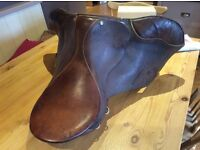 Saddle, from 14.2h pony