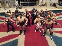 15 Wrestling figures, toys, WWF etc, expensive when new (lot 2 of 4)