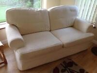 Sofa-cream three seater