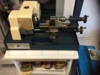 Lathe for sale .cowells 90 with lots of extras in good condition