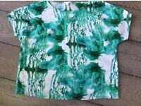 COS cotton short sleeved shirt