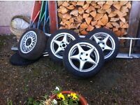 3 new winter tyres 195/50/15