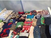 Huge bundle of boys clothes aged 3-4 from next George Tesco debenhams over 50 items
