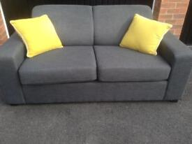 NOW SOLD Brand new 2 seater sofa bed, extremely comfortable, doesn't feel like a sofa bed!