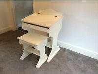 Hand-made Bespoke children's desk and stall