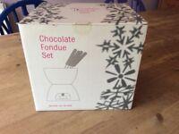 Chocolate fondue set