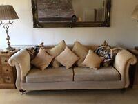 Used grande Derwent Delaware sofa Gold.