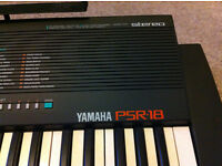 Yamaha Keyboard PSR-18 in good condition, collection in person, smoke free home.