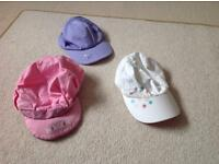 Girls summer hats